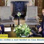 ALBERTO FERNÁNDEZ RECIBIÓ A AXEL KICILLOF EN CASA ROSADA POR LA REFORMA IMPOSITIVA