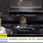 EL GOBIERNO BONAERENSE MODIFICÓ PROYECTO DE LEY IMPOSITIVA Y CONFÍA EN DESTRABAR SU TRATAMIENTO