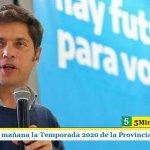 KICILLOF PRESENTA MAÑANA LA TEMPORADA 2020 DE LA PROVINCIA DE BUENOS AIRES