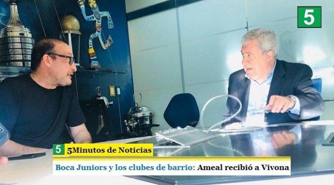 BOCA JUNIORS Y LOS CLUBES DE BARRIO: AMEAL RECIBIÓ A VIVONA