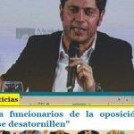 """Kicillof pidió a funcionarios de la oposición en el Banco Provincia """"que se desatornillen"""""""
