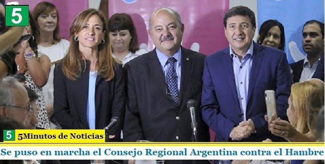 Se puso en marcha el Consejo Regional Argentina contra el Hambre
