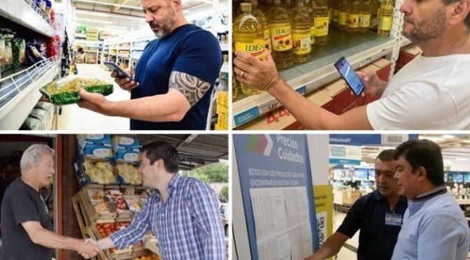 Intendentes del Frente de Todos salen a controlar Precios Cuidados y evitar abusos con la Tarjeta AlimentAR