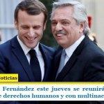 El Presidente Fernández este jueves se reunirá en París con organismos de derechos humanos y con multinacional minera