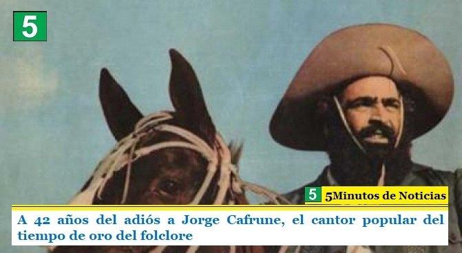 A 42 años del adiós a Jorge Cafrune, el cantor popular del tiempo de oro del folclore