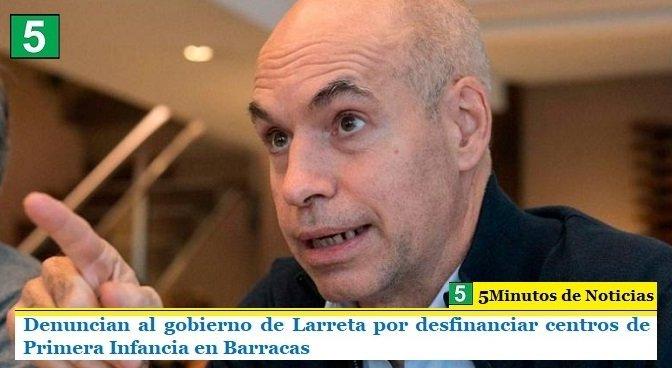 Denuncian al gobierno de Larreta por desfinanciar centros de Primera Infancia en Barracas