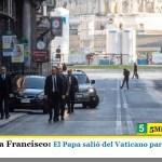 """Dios te bendiga Francisco: El Papa salió del Vaticano para rezar por el """"fin de la pandemia"""""""