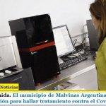 Argentina Unida. El municipio de Malvinas Argentinas participará de investigación para hallar tratamiento contra el Covid