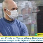 """Legisladores del Frente de Todos piden a Rodríguez Larreta que informe sobre una compra de barbijos de """"alta eficiencia"""