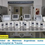 La Municipalidad de Malvinas Argentinas suma seis nuevos respiradores al Hospital de Trauma