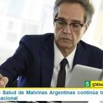 El Sistema de Salud de Malvinas Argentinas continúa trabajando con alcance internacional