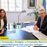 El Presidente Fernández designó a Fernanda Raverta en la Anses: «Confío en su capacidad para este enorme trabajo»