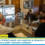 """El Gobernador Kicillof evaluó con expertos la situación de la provincia de Buenos Aires y pidió """"extremar cuidados"""""""
