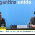 """Fernanda Raverta: """"Más del 80% de los jubilados le va a ganar a la inflación"""""""