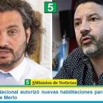 El Gobierno Nacional autorizó nuevas habilitaciones para el municipio bonaerense de Merlo