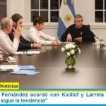 """El Presidente Fernández acordó con Kicillof y Larreta """"endurecer el aislamiento si sigue la tendencia"""""""