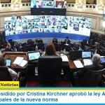 El Senado presidido por Cristina Kirchner aprobó la ley Alquileres. Los puntos principales de la nueva norma