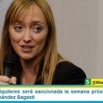 """La Ley de Alquileres será sancionada la semana próxima"" afirmó la senadora Fernández Sagasti"