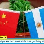 China es el principal socio comercial de la Argentina y desplazó a Brasil