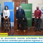 En Chivilcoy se anunciaron nuevas actividades flexibilizadas y el endurecimiento de los controles para quienes ingresan a la ciudad