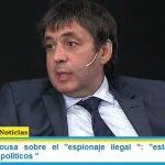 """Fabián De Sousa sobre el """"espionaje ilegal"""": """"están claros los responsables políticos """""""