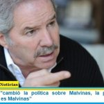 """Felipe Solá: """"cambió la política sobre Malvinas, la prioridad con Inglaterra hoy es Malvinas"""""""