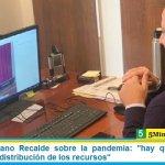 Senador Mariano Recalde sobre la pandemia: «hay que repensarlo todo, hasta la distribución de los recursos»