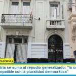 """El Instituto Patria se sumó al repudio generalizado: """"la convocatoria al odio no es compatible con la pluralidad democrática"""""""