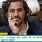 """Santiago Cafiero: """"tenemos que poner en el centro una mirada humanista, no economicista"""""""