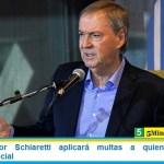 El Gobernador Schiaretti aplicará multas a quienes violen el aislamiento social