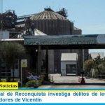 El fiscal federal de Reconquista investiga delitos de lesa humanidad contra trabajadores de Vicentin