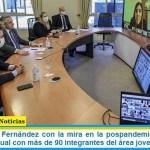El Presidente Fernández con la mira en la pospandemia mantuvo un encuentro virtual con más de 90 integrantes del área joven de la UIA