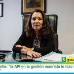 """Cristina Caamaño: """"la AFI en la gestión macrista le hizo mucho daño a la democracia"""""""