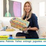 La Primera Dama Fabiola Yañez entregó juguetes en hospitales y merenderos
