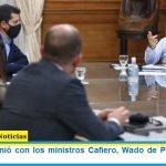 Kicillof se reunió con los ministros Cafiero, Wado de Pedro, Kulfas y Guzmán