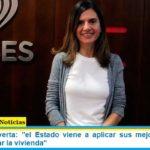 Fernanda Raverta: «el Estado viene a aplicar sus mejores prácticas para garantizar la vivienda»