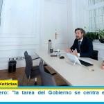 Santiago Cafiero: «la tarea del Gobierno se centra en la ética del cuidado»