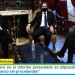 """Santiago Cafiero en el informe presentado en Diputados: """"el Estado realizó un esfuerzo sin precedentes"""""""