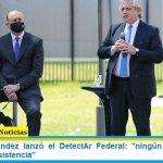 """Alberto Fernández lanzó el DetectAr Federal: """"ningún argentino se quedará sin asistencia"""""""