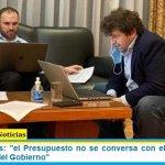"""Sergio Chodos: """"el Presupuesto no se conversa con el Fondo, es el Presupuesto del Gobierno"""""""