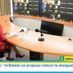"""Fabiola Yáñez: """"el Estado se propuso reducir la desigualdad entre los géneros"""""""