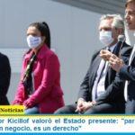 El Gobernador Kicillof valoró el Estado presente: «para nosotros la salud no es un negocio, es un derecho»