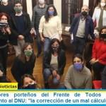 """Los legisladores porteños del Frente de Todos ratificaron su acompañamiento al DNU: """"la corrección de un mal cálculo"""""""