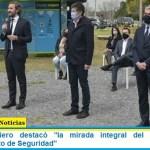"""Santiago Cafiero destacó """"la mirada integral del Programa de Fortalecimiento de Seguridad"""""""