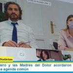 Santiago Cafiero y las Madres del Dolor acordaron temario para trabajar en una agenda común
