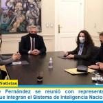 El presidente Fernández se reunió con representantes de los organismos que integran el Sistema de Inteligencia Nacional