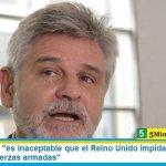 """Daniel Filmus: """"es inaceptable que el Reino Unido impida a la Argentina equipar sus fuerzas armadas"""""""