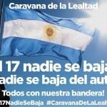 El Frente Sindical convoca para este sábado a una caravana al Obelisco y Plaza de Mayo para festejar el 17 de Octubre