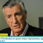 """Gioja: """"Alberto Fernández es quien mejor representa y garantiza la lista de unidad en el PJ"""""""