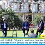 """Gobernador Axel Kicillof: """"algunos sectores buscan el desánimo y menoscabar la autoestima del pueblo y la sociedad argentina"""""""